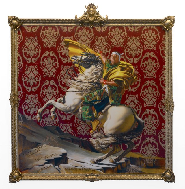 kehinde wiley napoleon
