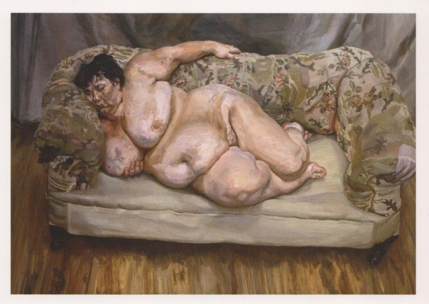 lucian freud benefits supervisor sleeping