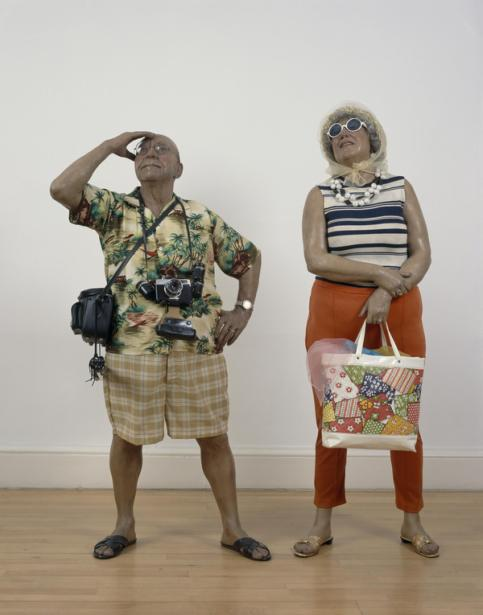tourists duane hanson